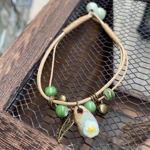 fire monkey Jewelry - ✨VINTAGE BOHO CERAMIC STRING BRACELET/ANKLET